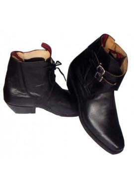 Zapato huaso confeccionado en cuero, forro badana planta de suela de 1º calidad