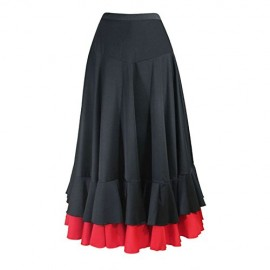Falda Flamenco, Lycra elasticada con 2 volantes